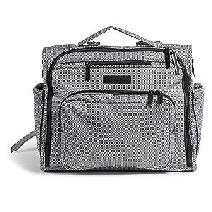 Ju-Ju-Be B.F.F. Convertible Diaper Bag, Black Matrix