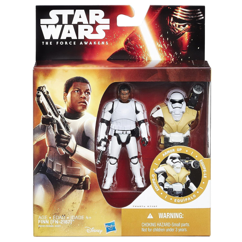 Star Wars FN-2187 The Force Awakens 3.75 Inch Figure Desert Mission Armor Finn