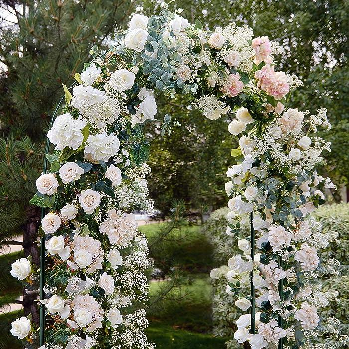 Top 10 Holly Home Decorative Metal Garden Arbor Style 2