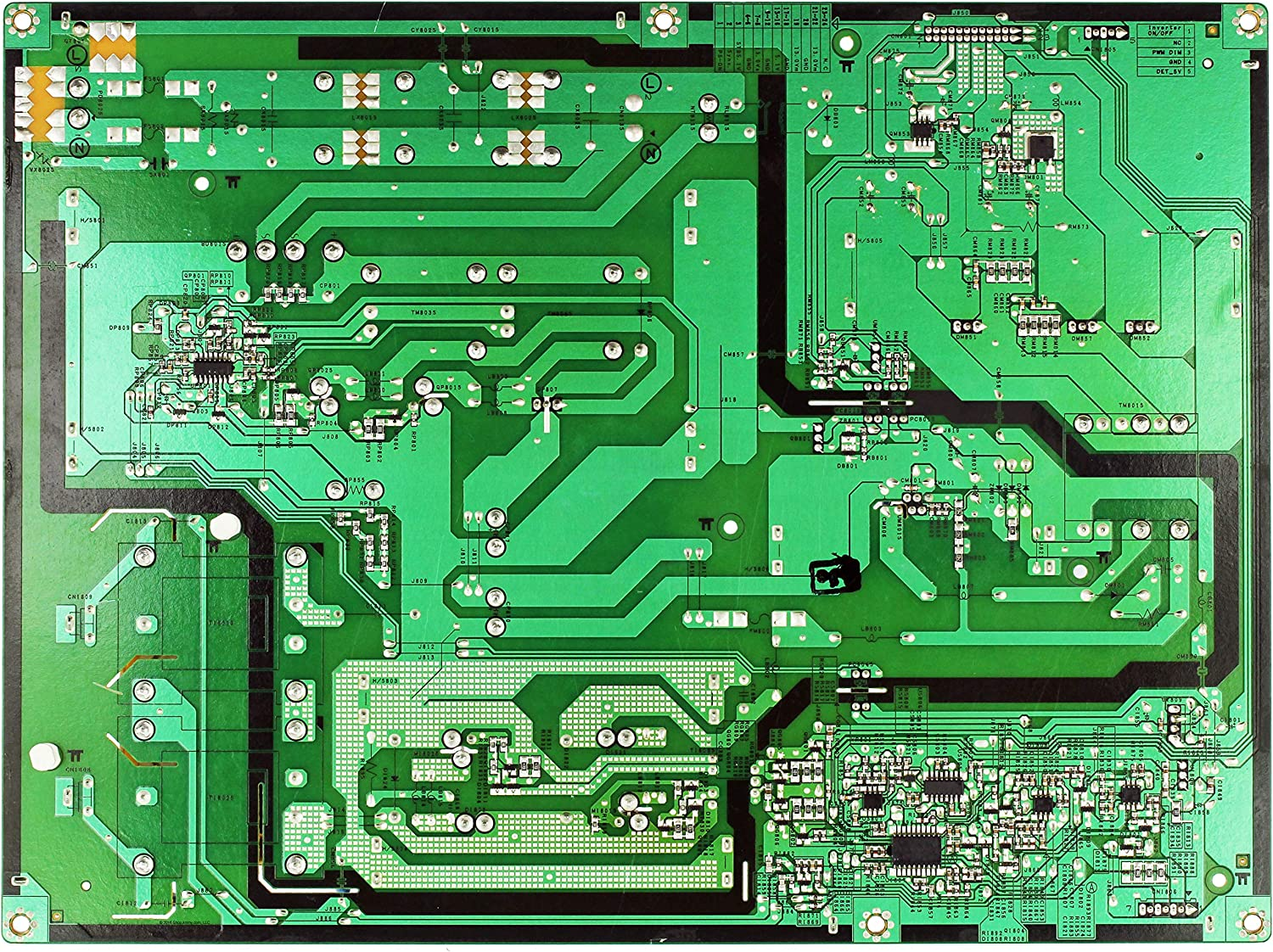 Power Supply Samsung BN44-00202A PCB IP