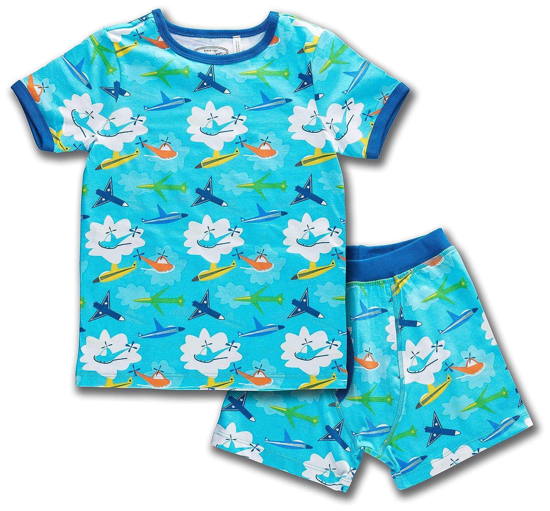 Trimfit Boys Organic Cotton 2-Piece Short Sleeve Dreamwear Pajama Set 87005