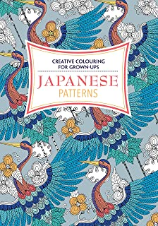 Japanese Patterns Creative Colouring For Grown Ups
