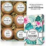 Amazon Price History for:6 Xtra Large and Lush Bath Bomb Gift Set - Bath Bombs Kit Includes Konjac Sponge - Use with Bath Body Bath Bubbles and Bath Beads - USA Made Bath Basket - Unique Gift Ideas Christmas and Relaxation