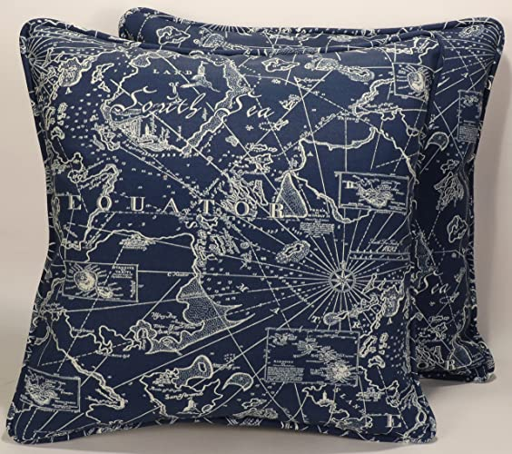 Amazon A Set Of 40 40 Handmade Tommy Bahama Fabric Indoor Simple South Seas Decorative Pillows