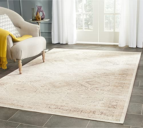 Safavieh Vintage Premium Collection VTG118-3440 Transitional Oriental Stone Distressed Silky Viscose Area Rug 10 x 14