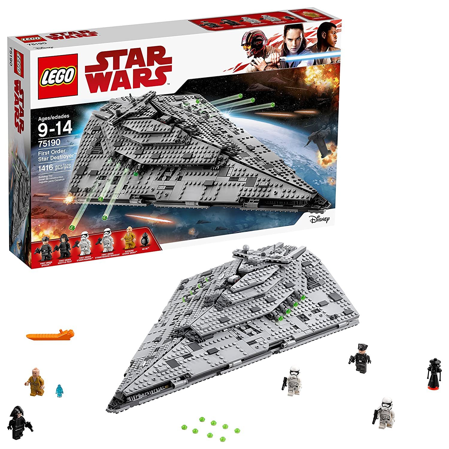 LEGO Star Wars Episode VIII First Order Star Destroyer