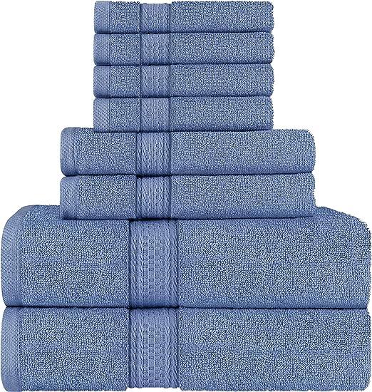 Utopia Towels - Juego de Toallas; 2 Toallas de baño, 2 Toallas de ...