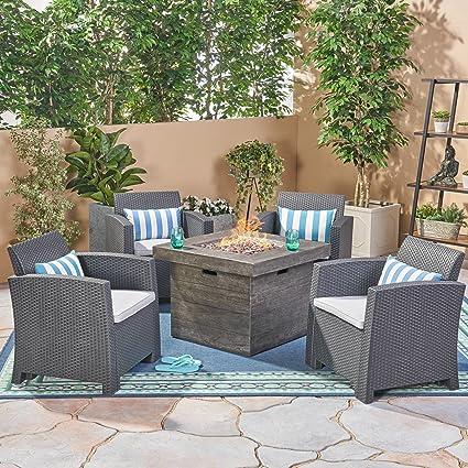 Amazon.com: Great Deal Furniture Ollie - Juego de sillas de ...