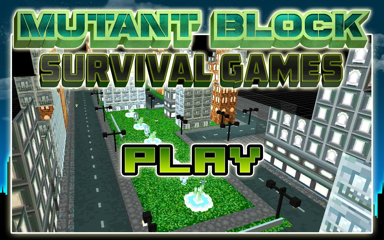 Mutant Block Ninja Games