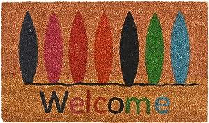 Home & More 12177 Surfboard Welcome Doormat