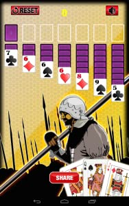 Wars Battle Solitaire Cards from Hot Las Vegas Saga FreeSlots