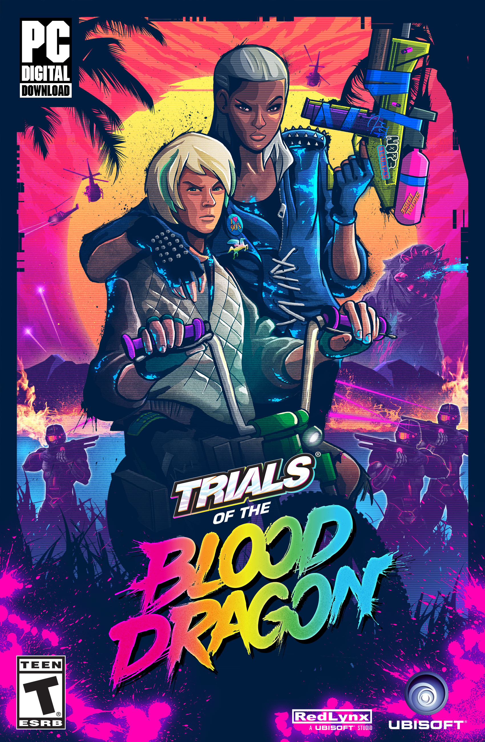 (Trials of The Blood Dragon [Online Game Code])