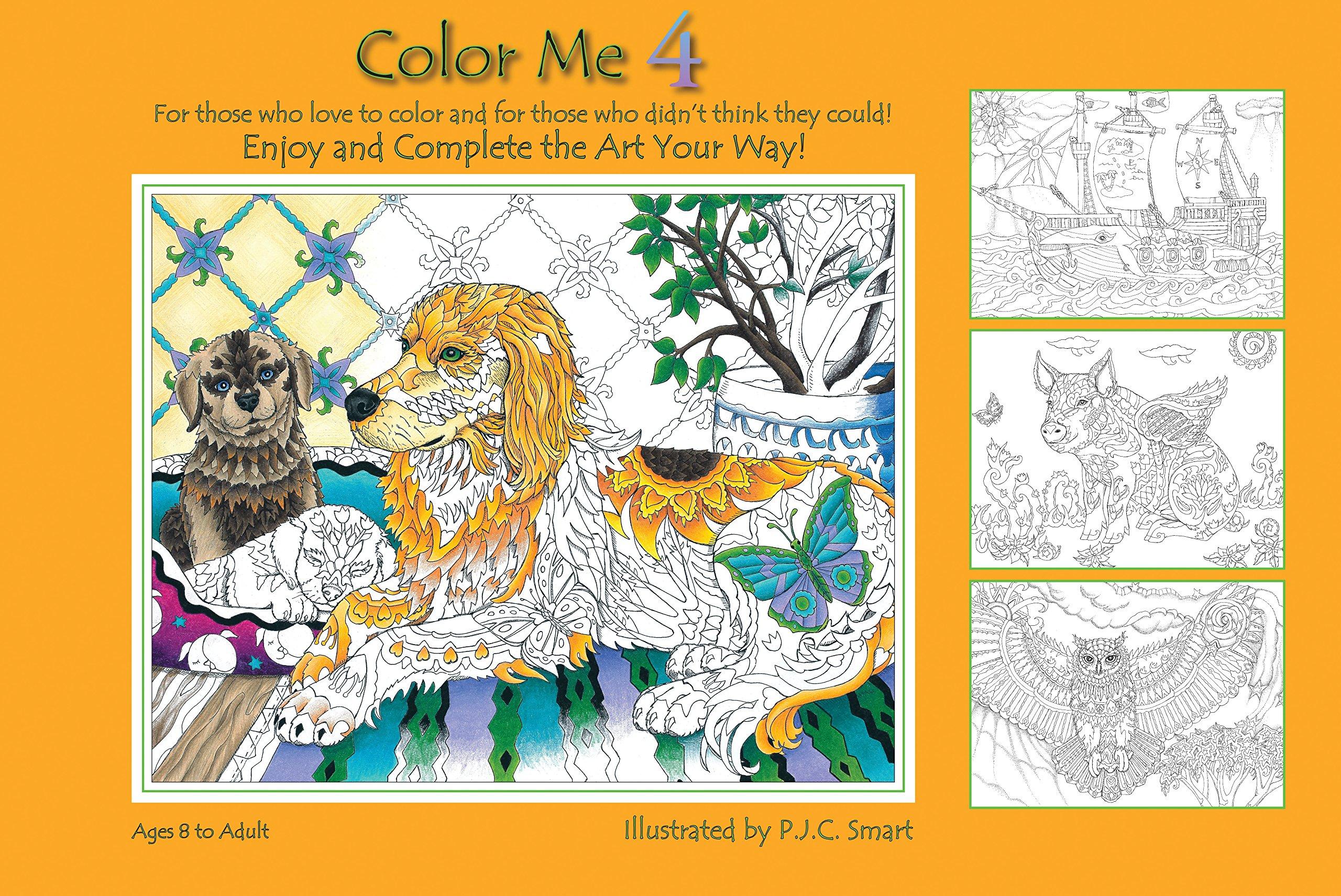 Amazon.com: Color Me Your Way 4 (9780990386018): Pamela Smart: Books