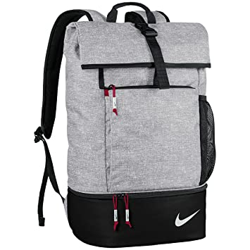 Nike Sport Rucksack Silver Black Gym Red: : Sport