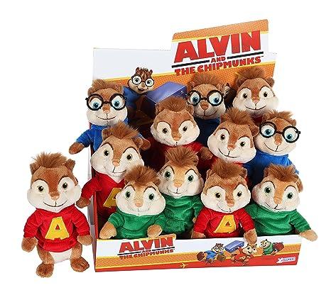 Chipmunks - Alvin peluche 15 cm
