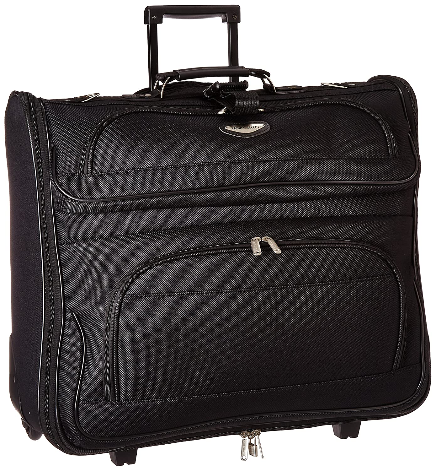 Travel Select Amsterdam Rolling Garment Bag Wheeled Luggage Case 855156af5fb35