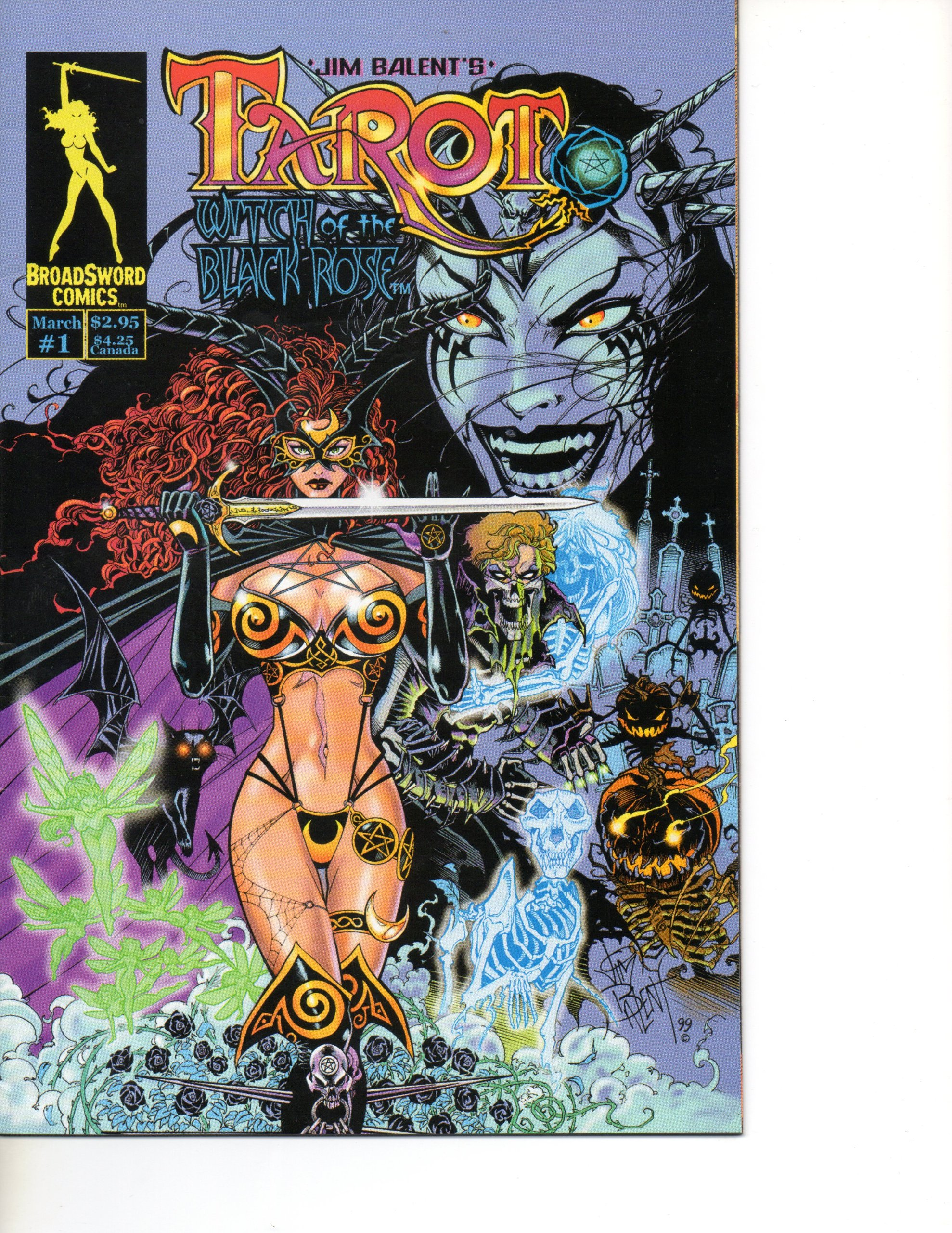 Read Online Tarot Witch of the Black Rose #1 Jim Balent Cover ebook