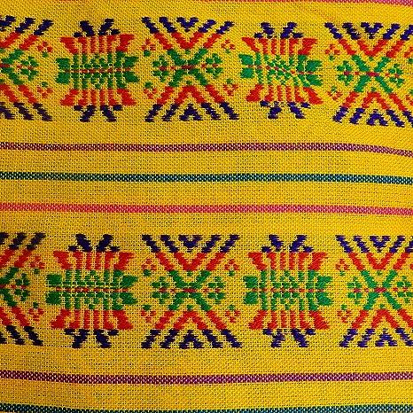 Amazon.com: Mexican Fabric cambaya 1 Yard