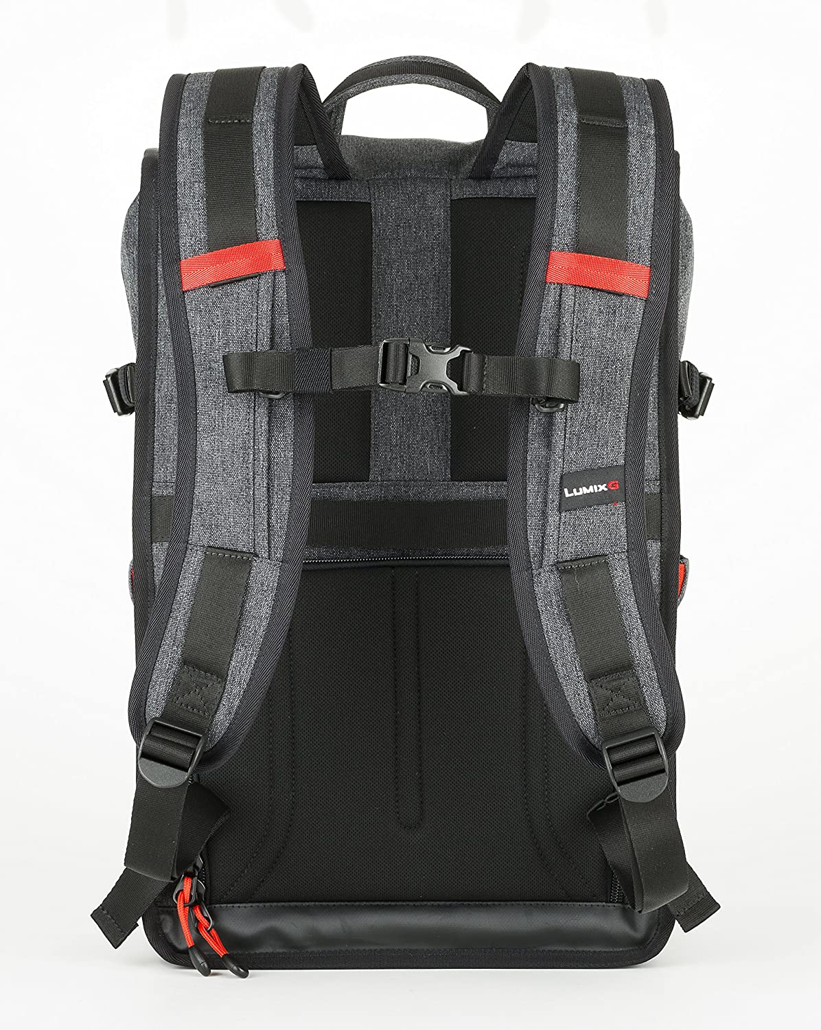 LUMIX DMW-PB10 Backpack 18.0 litres Water-Resistant Base Suitable for Laptops up to 15 Inches Grey//Black