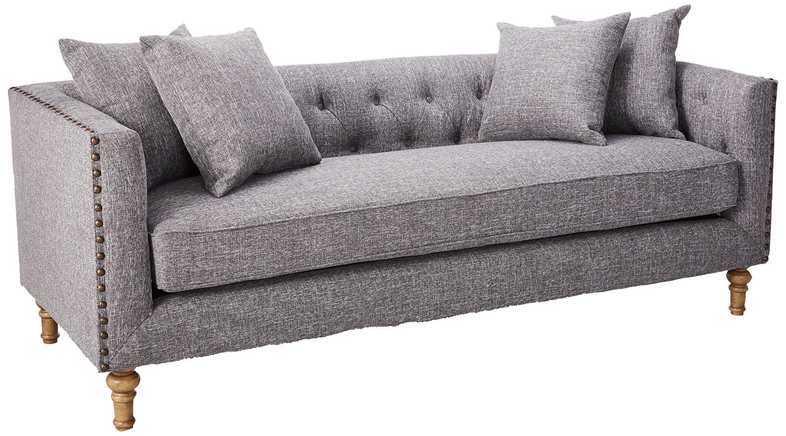 Coaster Home Furnishings 505771 Ellery Collection Sofa, Grey