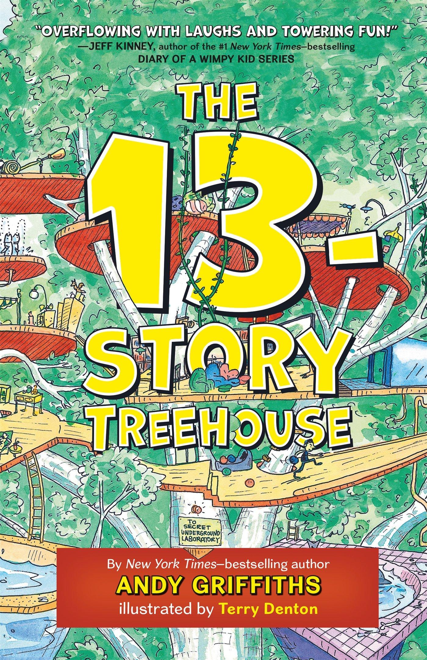 Delightful The 13th Storey Treehouse Part - 4: The 13-Story Treehouse (The Treehouse Books): Andy Griffiths, Terry Denton:  9781250026903: Amazon.com: Books
