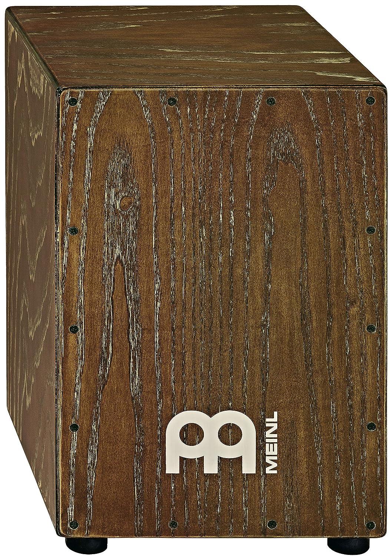 Meinl Percussion MCAJ100VBK American White Ash Vintage Black, American White Ash Cajon, Vintage Black Meinl USA L.C.