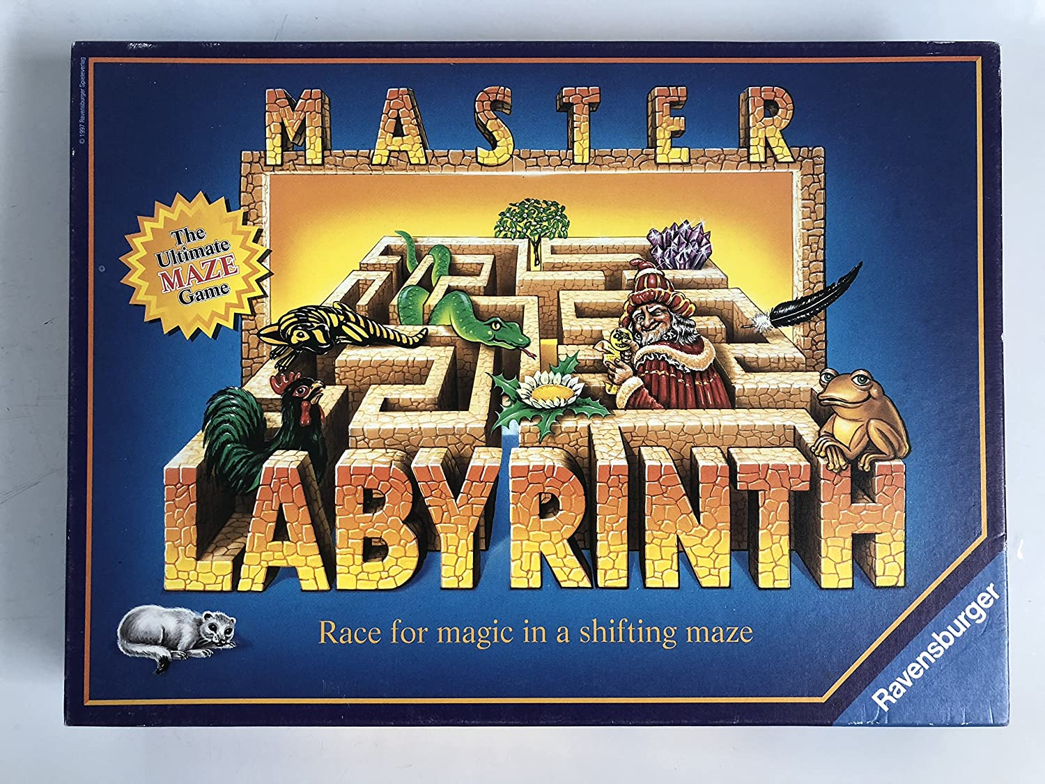 Master Labyrinth - Race for Magic in a Shifting Maze: Amazon.es: Juguetes y juegos