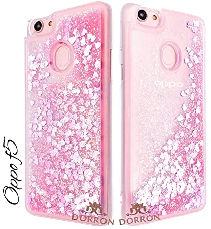 fb9d073d08 DORRON Quicksand Soft TPU Back Case Cover for Oppo F5: Amazon.in:  Electronics