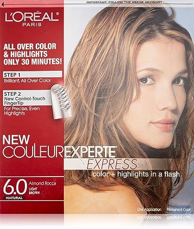 Amazon loral paris couleur experte hair color hair loral paris couleur experte hair color hair highlights light brown almond pmusecretfo Image collections