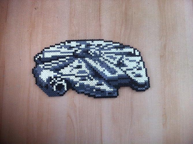 Pixel Art Perler Beads Star Wars Millenium Falcon Amazon