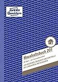 Avery Zweckform 201 Haushaltsbuch (A5, mit Jahresübersicht, 36 Blatt) weiß