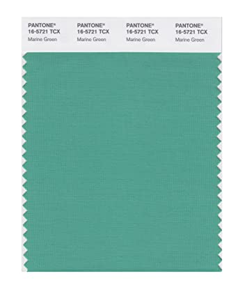 pantone smart 16 5721x color swatch card marine green amazon in