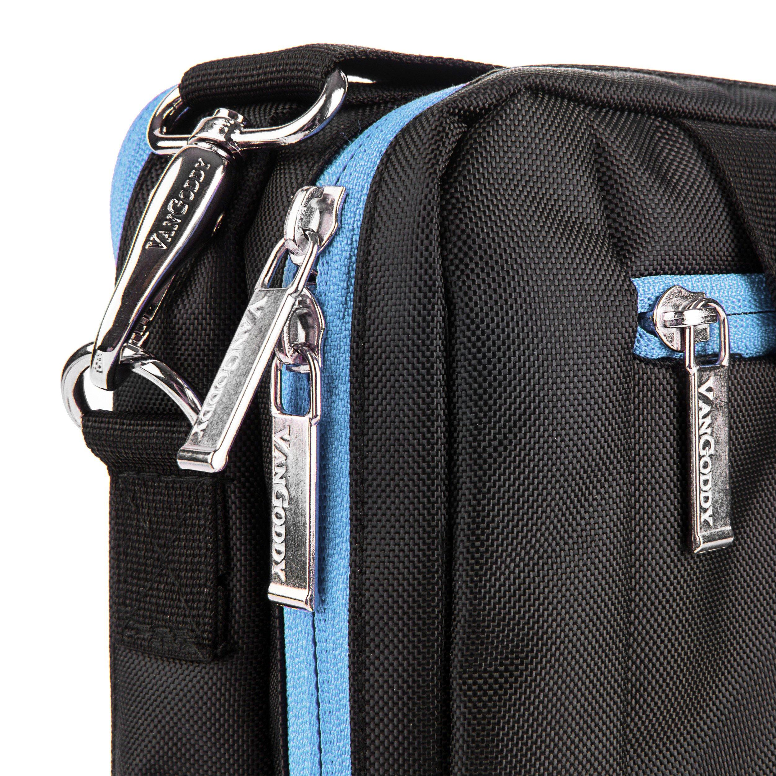 Messenger Aqua Bag & Wireless USB Mouse for Lenovo & Samsung Tablet / Laptops / 2 in 1s by Vangoddy