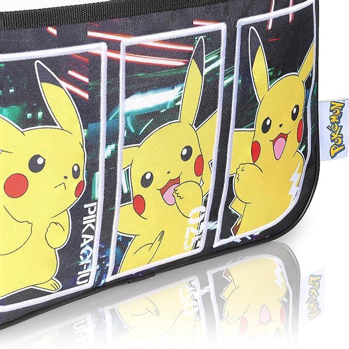 Officiel Pokemon Pikachu rempli Grand Sac à dos Set A4 pour reliure à anneaux Notebook Set
