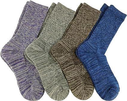Kirkland Signature Ladies' Extra-fine Merino Wool Crew Socks Women 6-pairs Sock