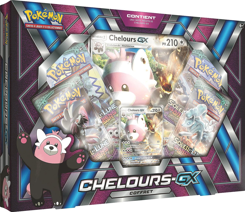 en Fran/çais Pokemon Coffret Chelours GX