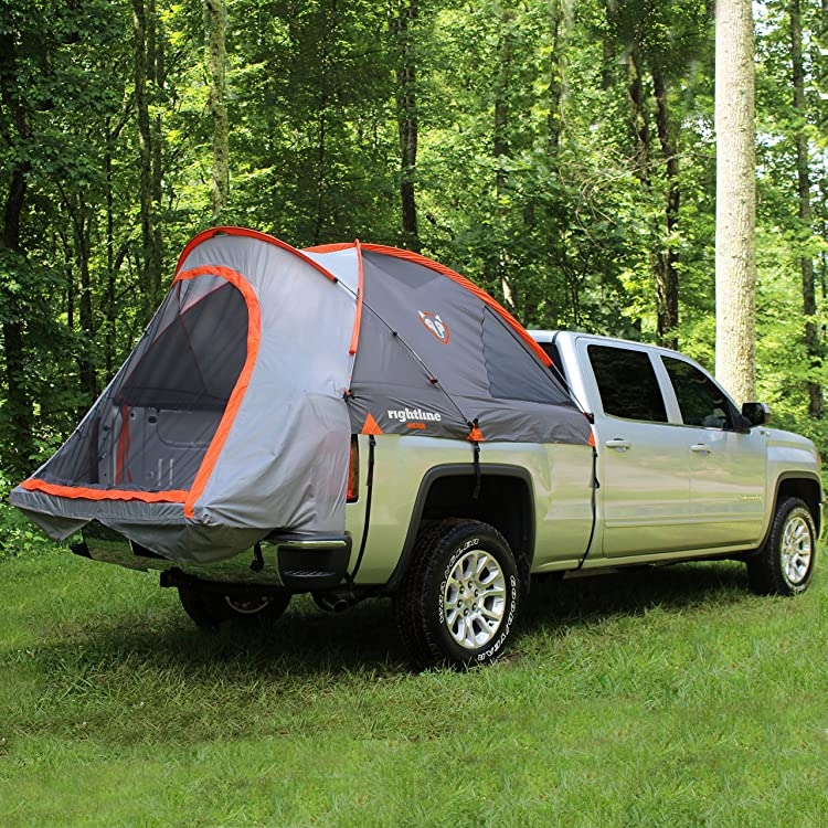 The Rightline Gear Truck Tent lets you experience camping in a dry truck bed