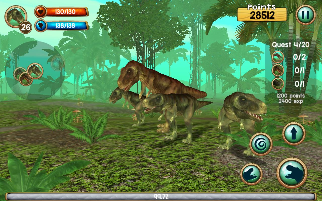 Amazon Com Tyrannosaurus Rex Sim 3d Appstore For Android