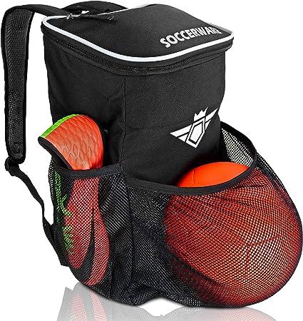 Soccerware Waterproof Adjustable Soccer Backpack