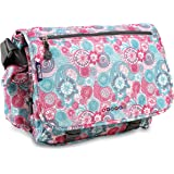 J World New York Terry Messenger Bag, Blue Raspberry, One Size
