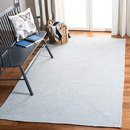 Safavieh Braided Collection BRD176A Hand-woven Cotton Area Rug