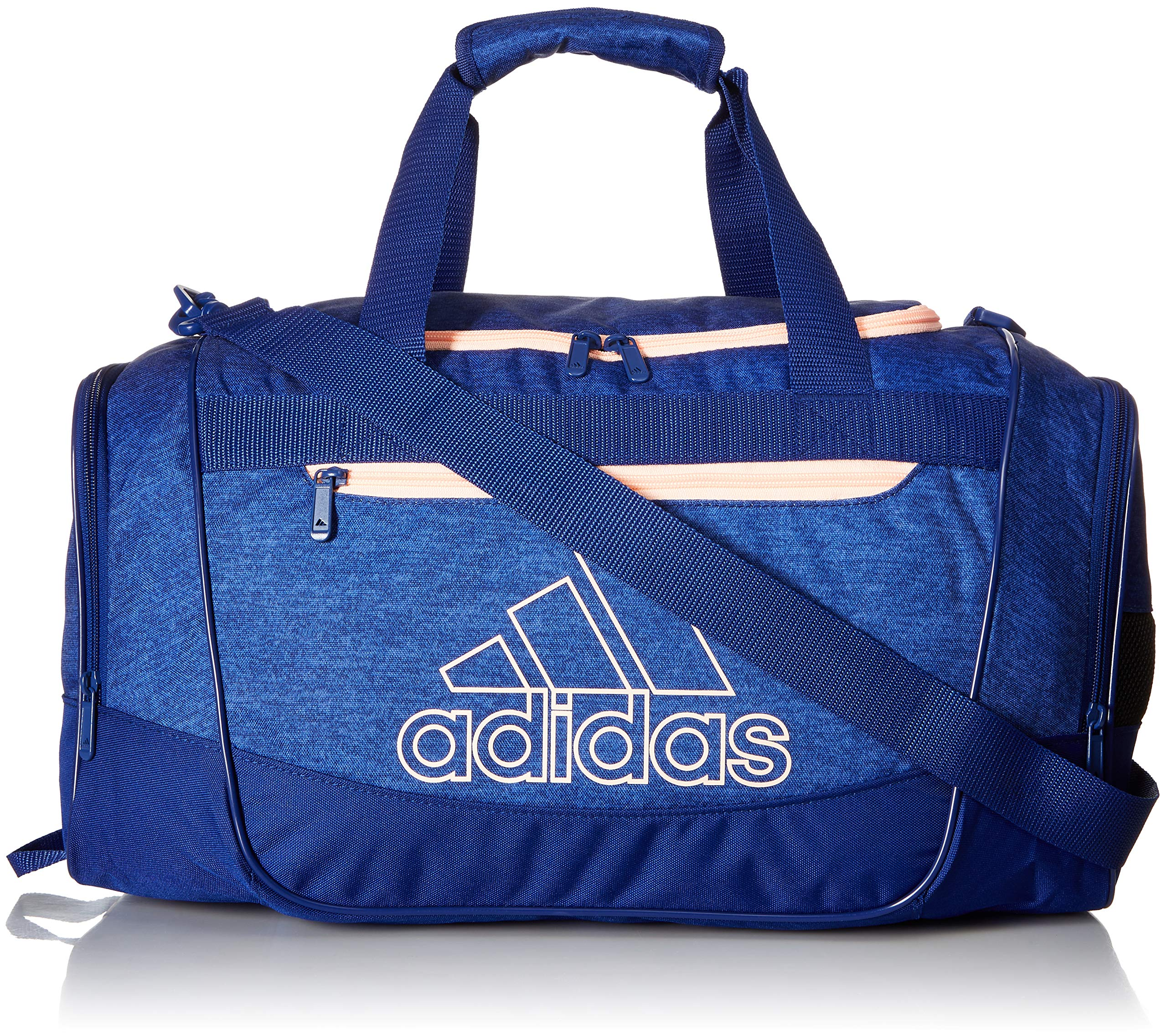 d81e21999f2 Galleon - Adidas Defender III Small Duffel, Mystery Ink Blue Jersey/Mystery  Ink Blue/Clear Orange, One Size
