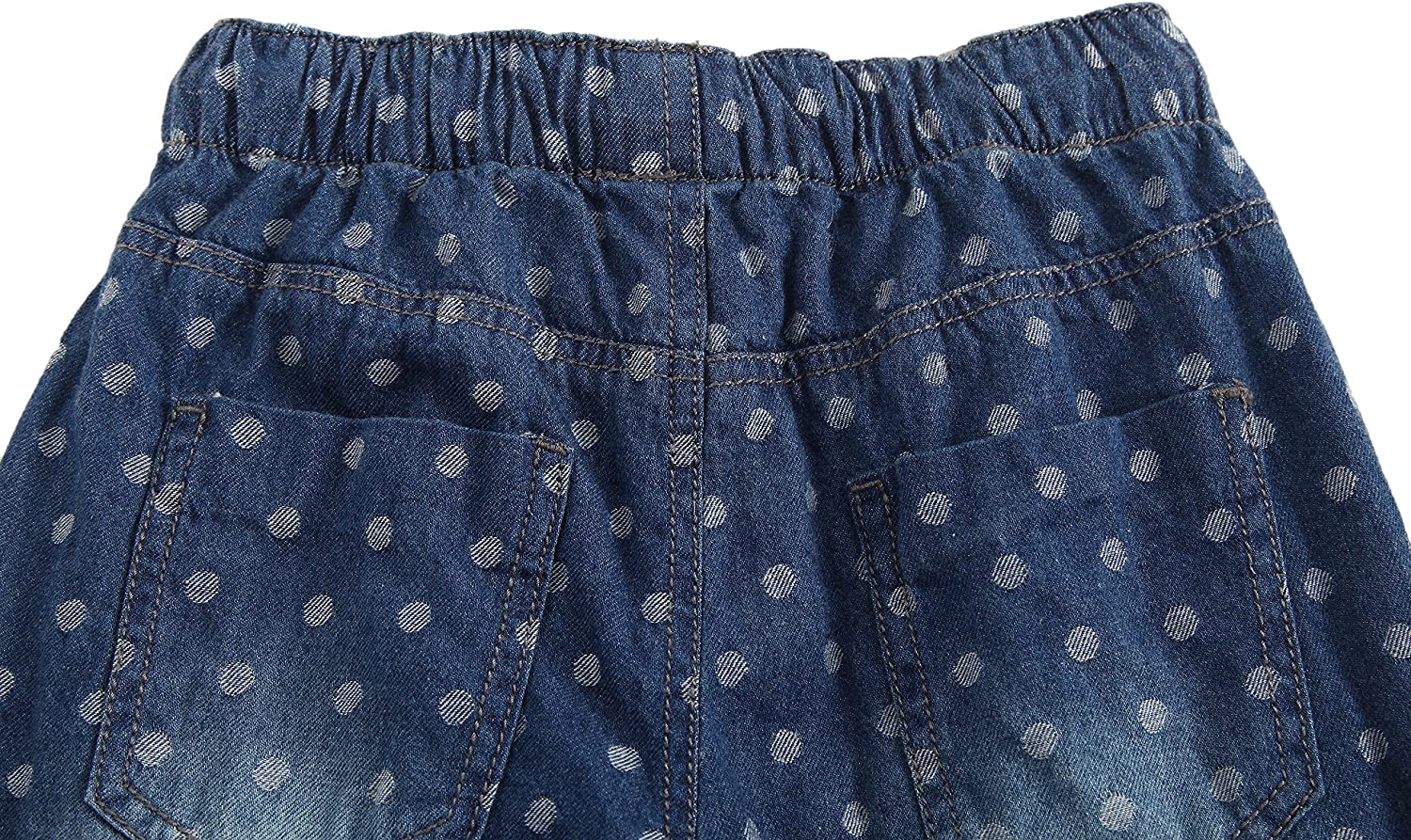 Richie House Big Girls Polka Dot Pants with Cotton Lining RH2246 Size 3-8
