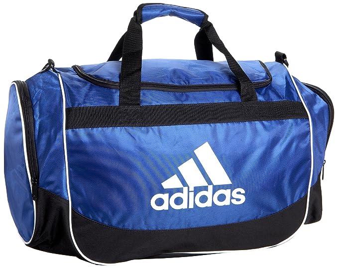 aa7d387a8ae2f4 Amazon.com: adidas Defender Duffel Medium Duffel Bag Cobalt/Black ...