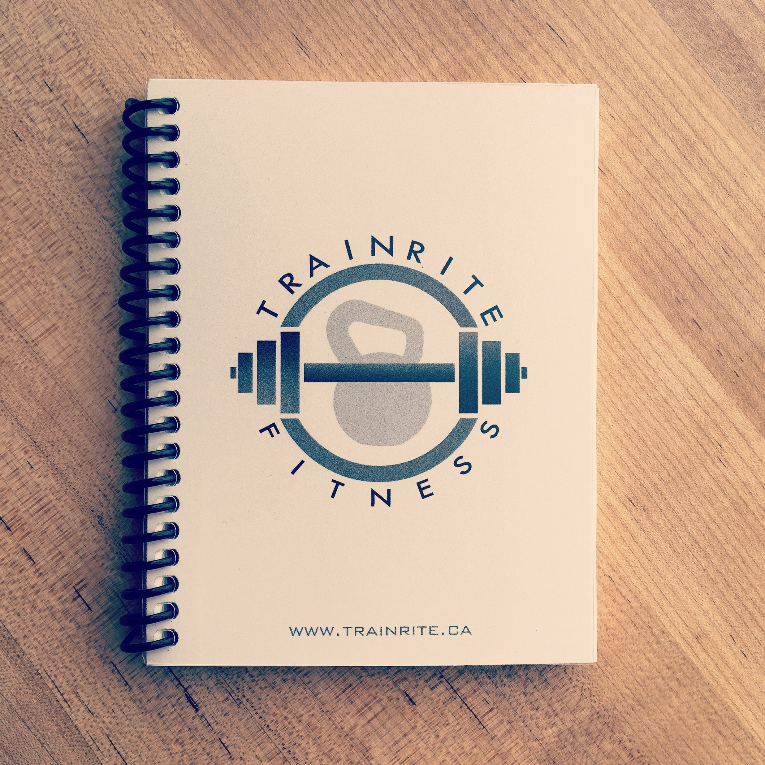 TrainRite Compact Fitness Journal Exercise product image