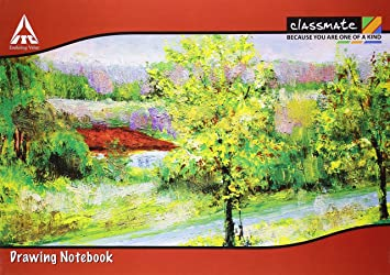 classmate drawing book a4 soft cover pack of 12