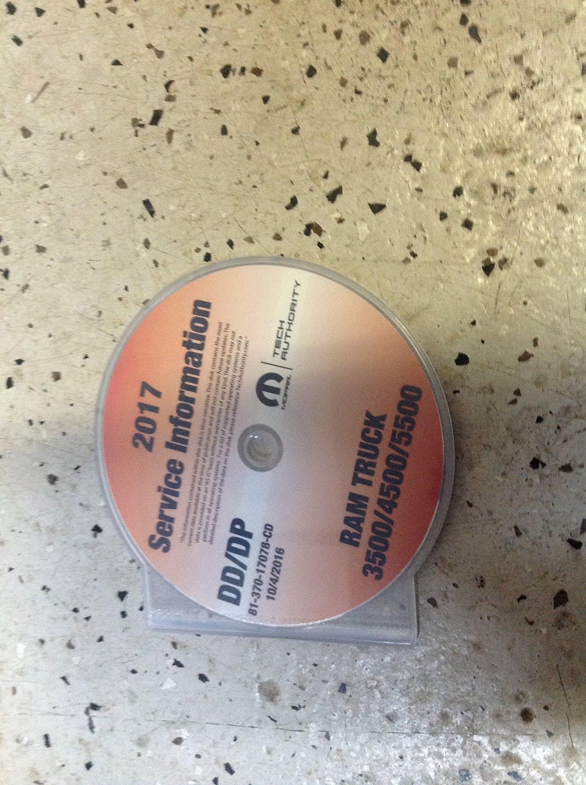 2017 DODGE RAM TRUCK 3500 4500 5500 Service INFORMATION Shop Repair Manual CD pdf epub