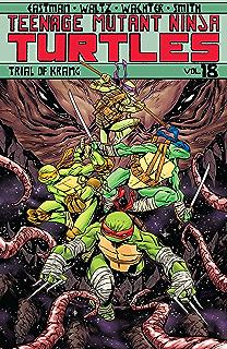 Teenage Mutant Ninja Turtles Vol 18 Trial Of Krang