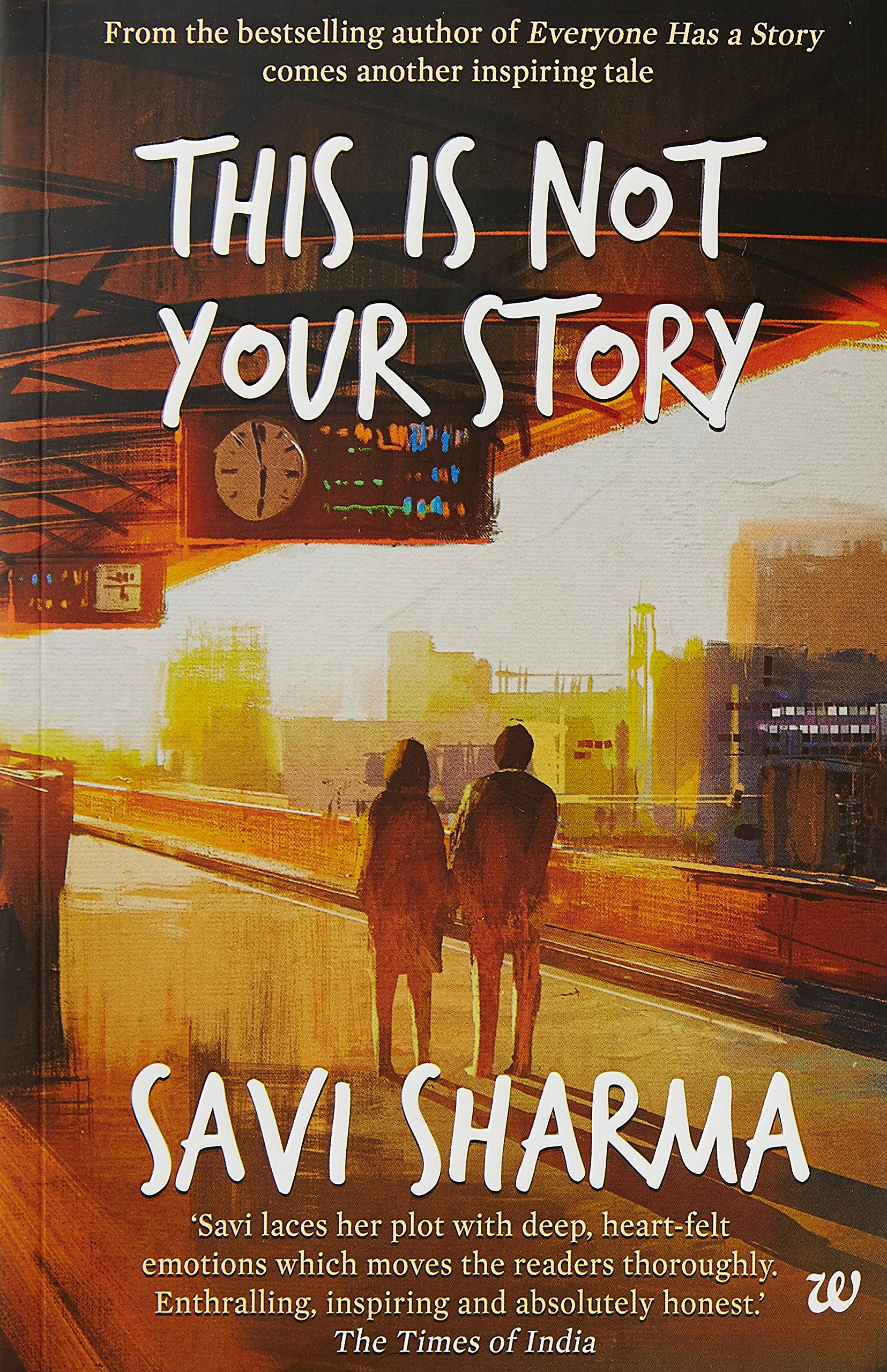 """This Is Not Your Story"" by Savi Sharma"