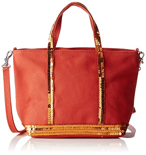 4e0fd62a42 Vanessa Bruno Baby Cabas - Borse a spalla Donna, Orange (Orange Ginger),